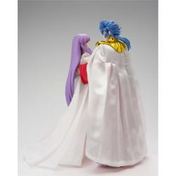 ABEL THE GOD SUN + ATHENA GODDESS SET FIGURES 16,5+15,5 CM SAINT SEIYA SAINT CLOTH MYTH