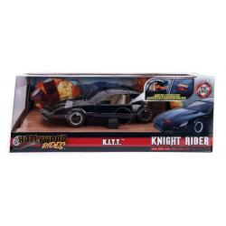 Knight Rider Diecast Model 1/24 1982 Pontiac Firebird Knightrider KITT with Light-Up Function