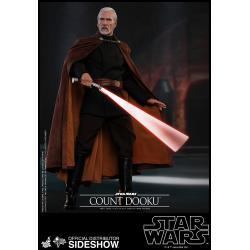 Count Dooku Sixth Scale Figure by Hot Toys Ep II: Attack of the Clones - Movie Masterpiece Series
