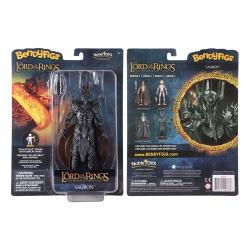 El Señor de los Anillos Figura Maleable Bendyfigs Sauron 19 cm