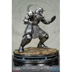 Fullmetal Alchemist Brotherhood Estatua Alphonse Elric Silver Variant 55 cm