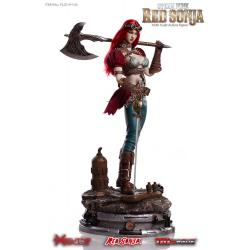 Red Sonja Figura 1/6 Steampunk Red Sonja Deluxe Version 29 cm