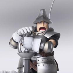 Final Fantasy IX Bring Arts Action Figures Vivi Ornitier & Adelbert Steiner 10 - 15 cm