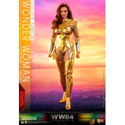 Golden Armor Wonder Woman (Deluxe) Sixth Scale Figure by Hot Toys Movie Masterpiece Series - Wonder Woman 1984