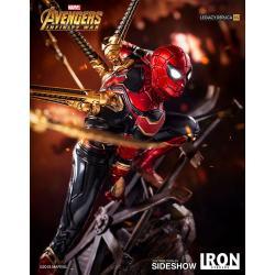 Vengadores Infinity War Estatua Legacy Replica 1/4 Iron Spider-Man 64 cm