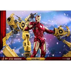 Iron Man Mark IV with Suit-Up Gantry