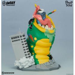Unruly Kaiju Series Estatua PVC Wrath of Wormzilla! 15 cm