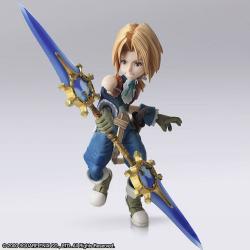 Final Fantasy IX Figuras Bring Arts Zidane Tribal & Garnet Til Alexandros XVII 12 - 17 cm