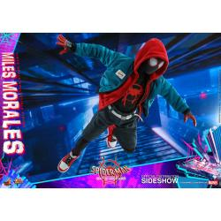 Miles Morales Sixth Scale Figure by Hot Toys Movie Masterpiece Series - Spider-Man: Into the Spider-Verse