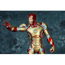 PREMIUM COLLECTIBLES :IRON MAN MARK XLII STATUE (MOVIE VERSION)