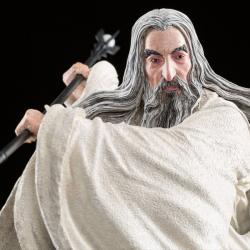 El hobbit La batalla de los Cinco Ejércitos Estatua 1/6 Saruman the White at Dol Guldur 35 cm