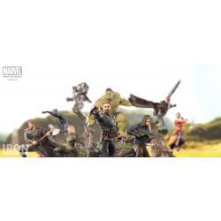 Vengadores Infinity War Estatua BDS Art Scale 1/10 Hulk 25 cm