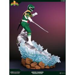 Power Rangers Estatua 1/4 Green Ranger PCS Dragonzord Ex Exclusive 61 cm