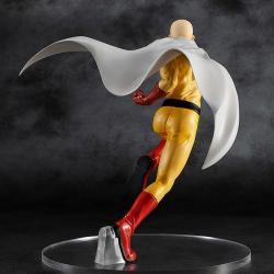 One Punch Man Pop Up Parade PVC Statue Saitama Hero Costume Ver. 18 cm