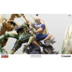 Hunter x Hunter Elite Fandom Diorama 1/6 Netero vs Meruem 76 cm