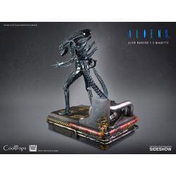 Alien Estatua 1/3 Alien Warrior Deluxe 74 cm