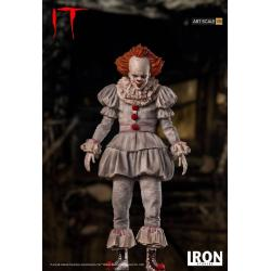 Stephen King\'s It 2017 Estatua 1/10 Art Scale Pennywise 22 cm