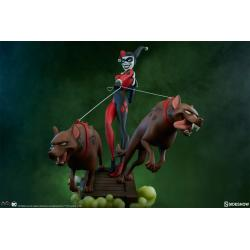 Harley Quinn Statue by Sideshow Collectibles Animated Series Collection