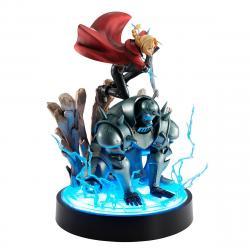 Fullmetal Alchemist Precious G.E.M. Series Statue Edward & Alphonse Elric Brothers 30 cm