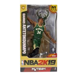 NBA 2K19 Action Figure Series 1 Giannis Antetokounmpo (Milwaukee Bucks) 15 cm