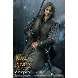 El Señor de los Anillos Figura 1/6 Aragorn at Helm\'s Deep 30 cm