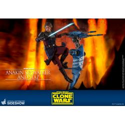 Anakin Skywalker and STAP Sixth Scale Figure Set by Hot Toys The Clone Wars - Television Masterpiece Series