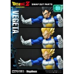 Dragon Ball Z Estatua 1/4 Super Saiyan Vegeta Deluxe Version 64 cm
