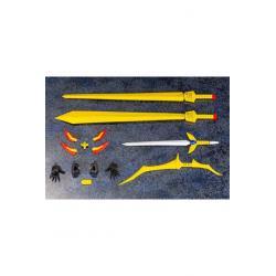 Brave Exkaiser Maqueta Plastic Model Kit Great Exkizer 18 cm Kit de Modelismo Brave Exkaiser