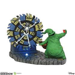 Pesadilla antes de Navidad Estatua Oogie Boogie Gives a Spin 11 cm