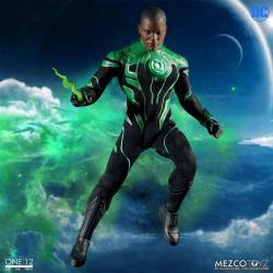 DC Comics Figura con luz 1/12 John Stewart - The Green Lantern 17 cm
