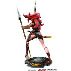 Red Sonja Estatua Red Sonja 45th Anniversary by Frank Thorne 32 cm