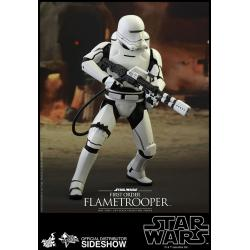 Star Wars The Force Awakens: First Order Flametrooper Sixth Scale