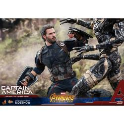 Captain America Sixth Scale Figure by Hot Toys Avengers: Infinity War - Movie Masterpiece Series