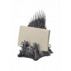 Juego de tronos Estuche para tarjetas de visita Trono de Hierro 11 cm