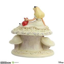 Disney Statue White Woodland Alice in Wonderland (Alice in Wonderland) 18 cm