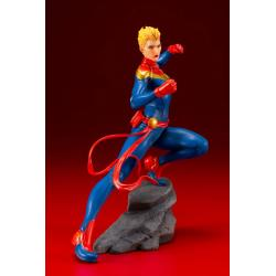 Marvel Universe Avengers Series Estatua PVC ARTFX+ 1/10 Captain Marvel 17 cm
