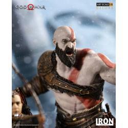 God of War Estatua 1/10 Deluxe Art Scale Kratos & Atreus 20 cm