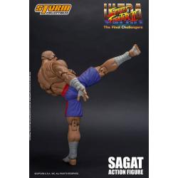 Ultra Street Fighter II: The Final Challengers Figura 1/12 Sagat 19 cm