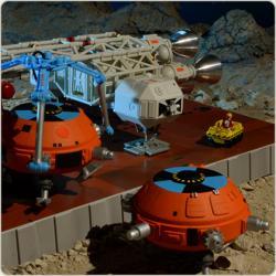 SPACE 1999 COLLISON COURSE EAGLE