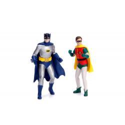 Batman Vehículo 1/18 1966 Batmobile con Figuras