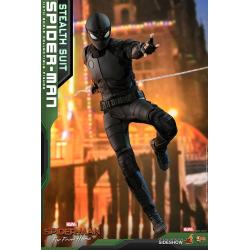 Spider-Man (Stealth Suit) Sixth Scale FigurebyHot Toys Movie Masterpiece Series - Spider-Man: Far From Home