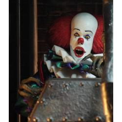 Stephen King\'s It 1990 Retro Action Figure Pennywise 20 cm