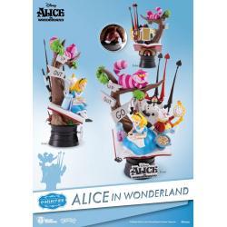 Alicia en el País de las Maravillas Diorama PVC D-Select 15 cm