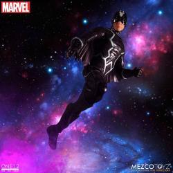 Marvel Universe Action Figures 1/12 Black Bolt & Light-Up Lockjaw 17 cm