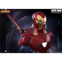 Bust Iron Man Battle Damaged Mark 50 Queen Studio