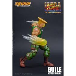 Ultra Street Fighter II: The Final Challengers Figura 1/12 Guile 16 cm