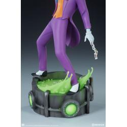 The Joker Statue by Sideshow Collectibles Animated Series Collection