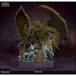 H.P. Lovecraft Estatua Museum of Madness Cthulhu 56 cm