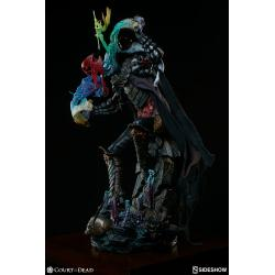 Court of the Dead Estatua Premium Format Malavestros Deaths Chronicler Fool 52 cm
