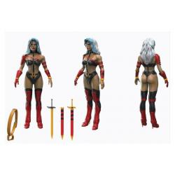 Heavy Metal FigBiz Action Figure Taarna 13 cm